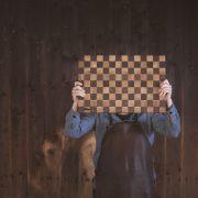 Sjakkmønster.